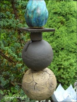 Garten Stele Türkis